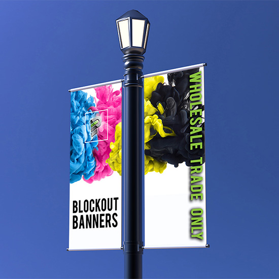 Blockout Banners