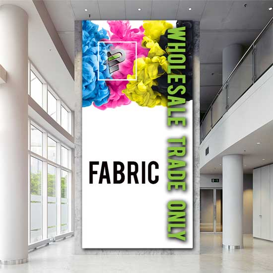 Fabric Sign Production