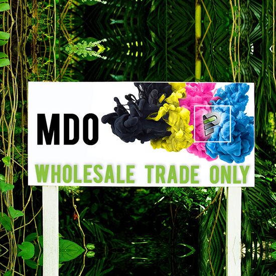 MDO Sign Production