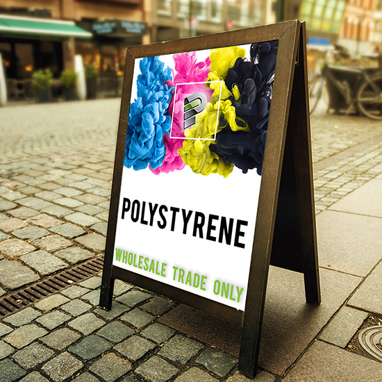 Polystyrene Sign Production