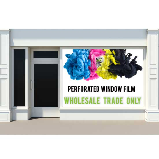 Window Perf Sign Production