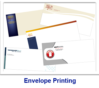 Custom printed envelopes at Broward Printing