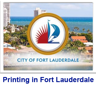 Printing in Fort Lauderdale