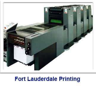 Printing press, printing in Fort Lauderdale