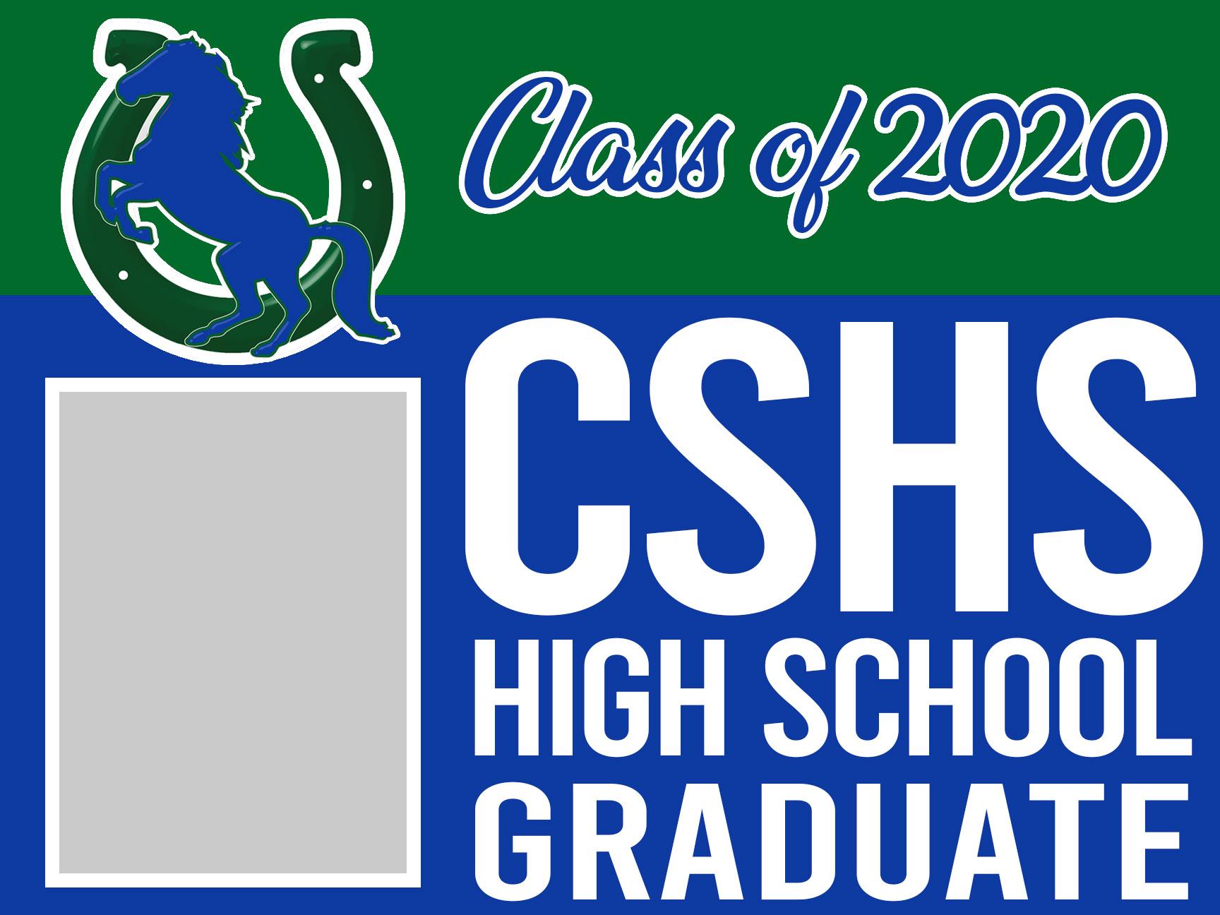CSHS graduation 18x24 magnet