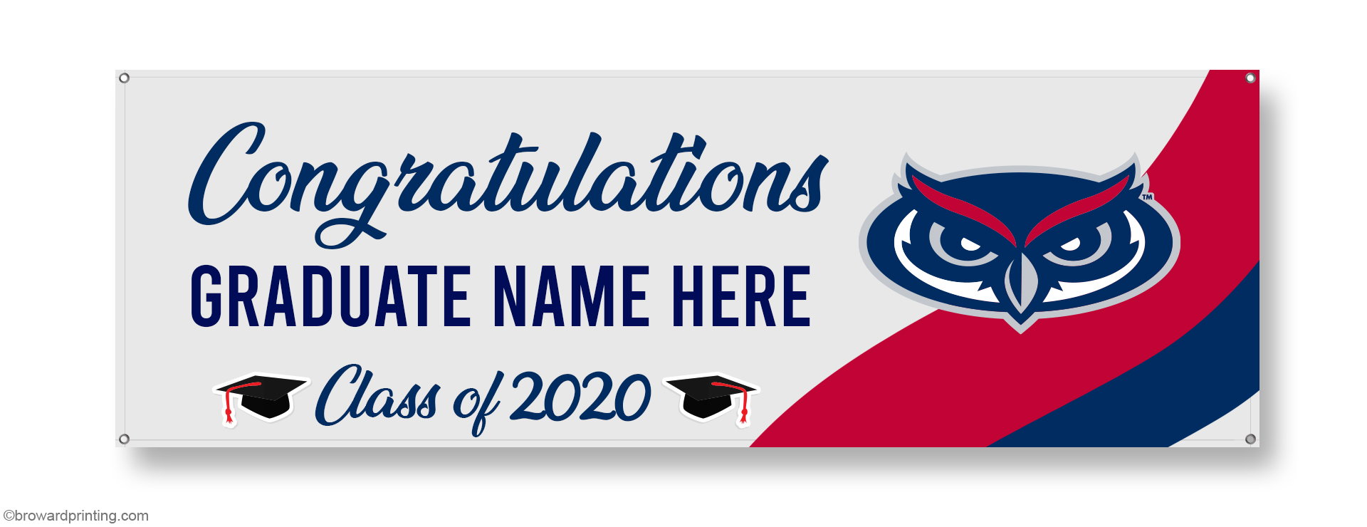 FAU Graduation Banners