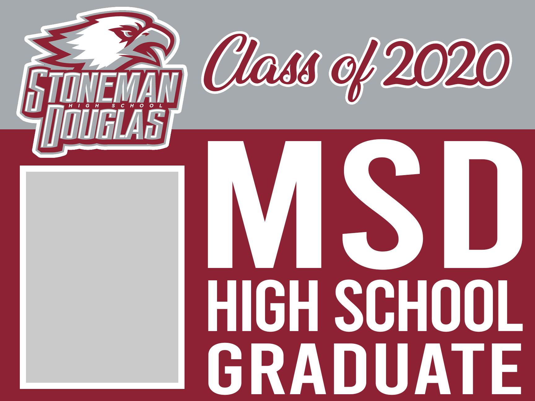 MSD graduation 18x24 magnet