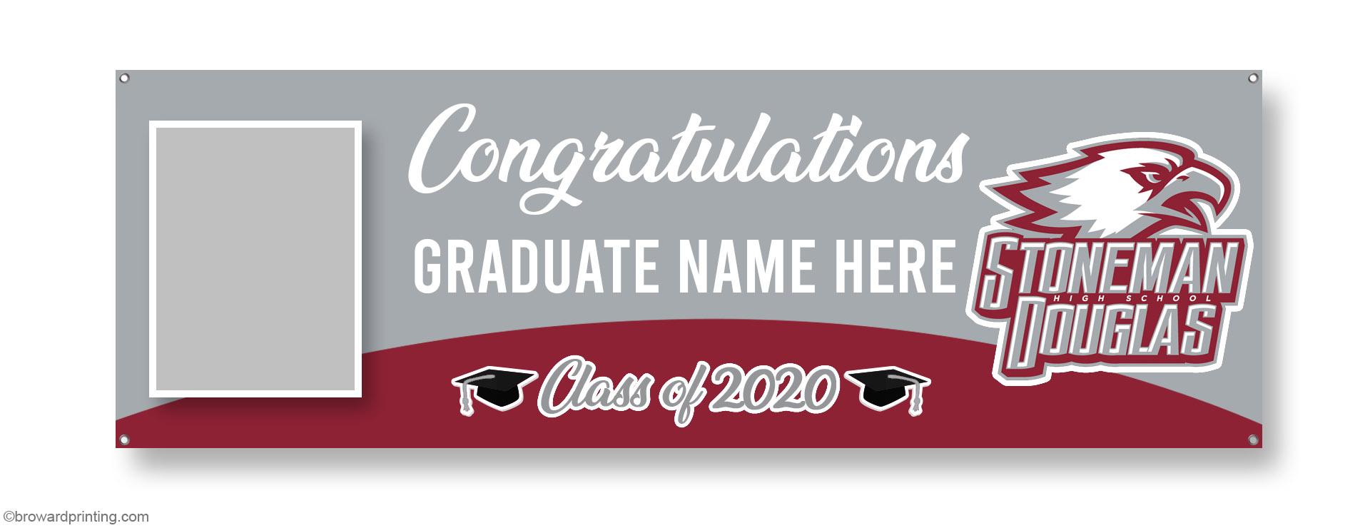 MSD Photo Graduation Banners