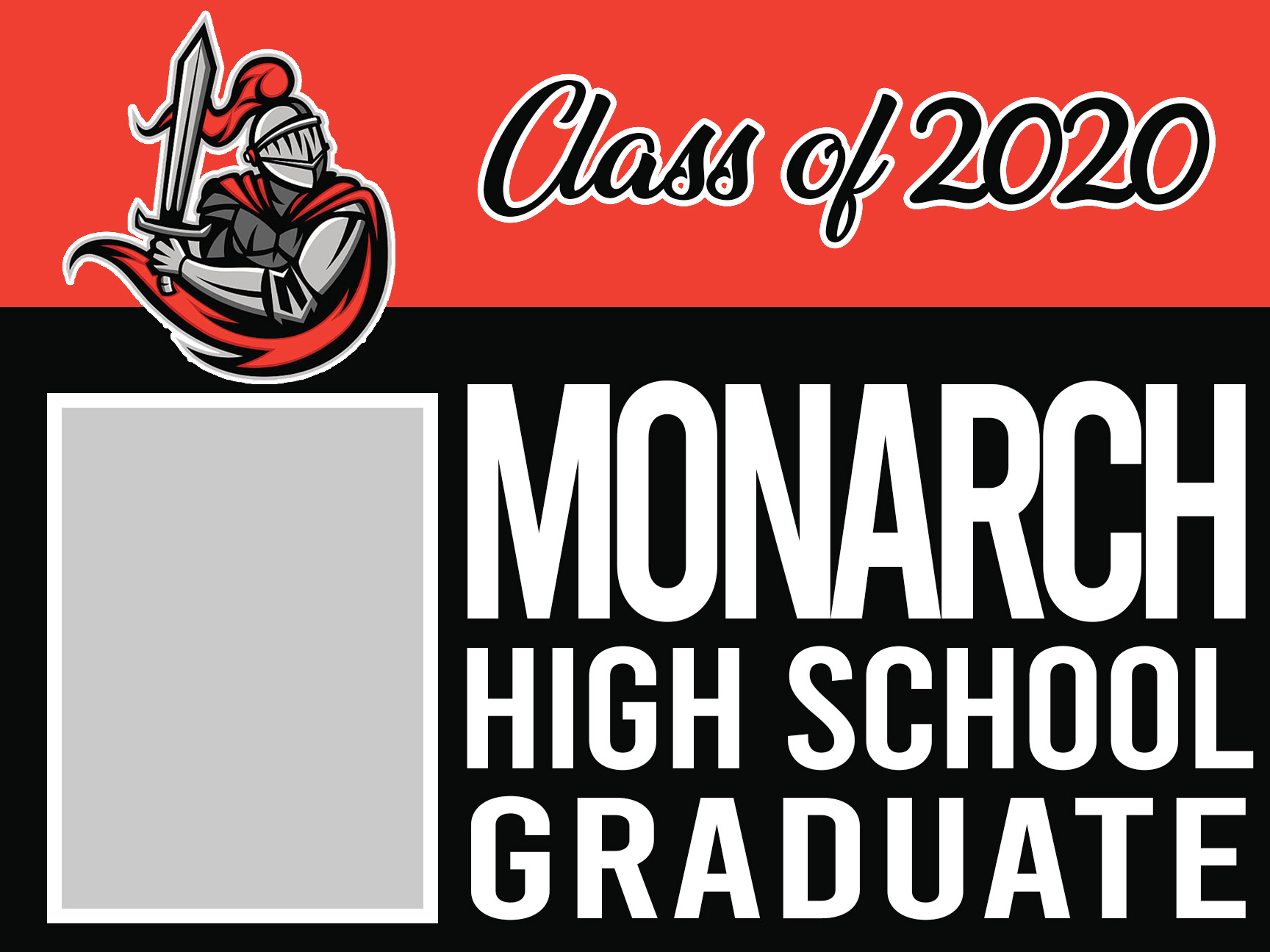 Monarch graduation 18x24 magnet