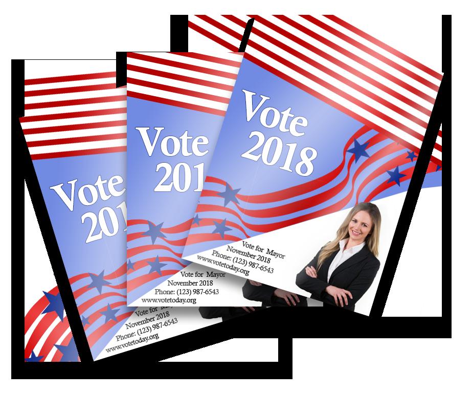 Broward Printing, campaign flyers