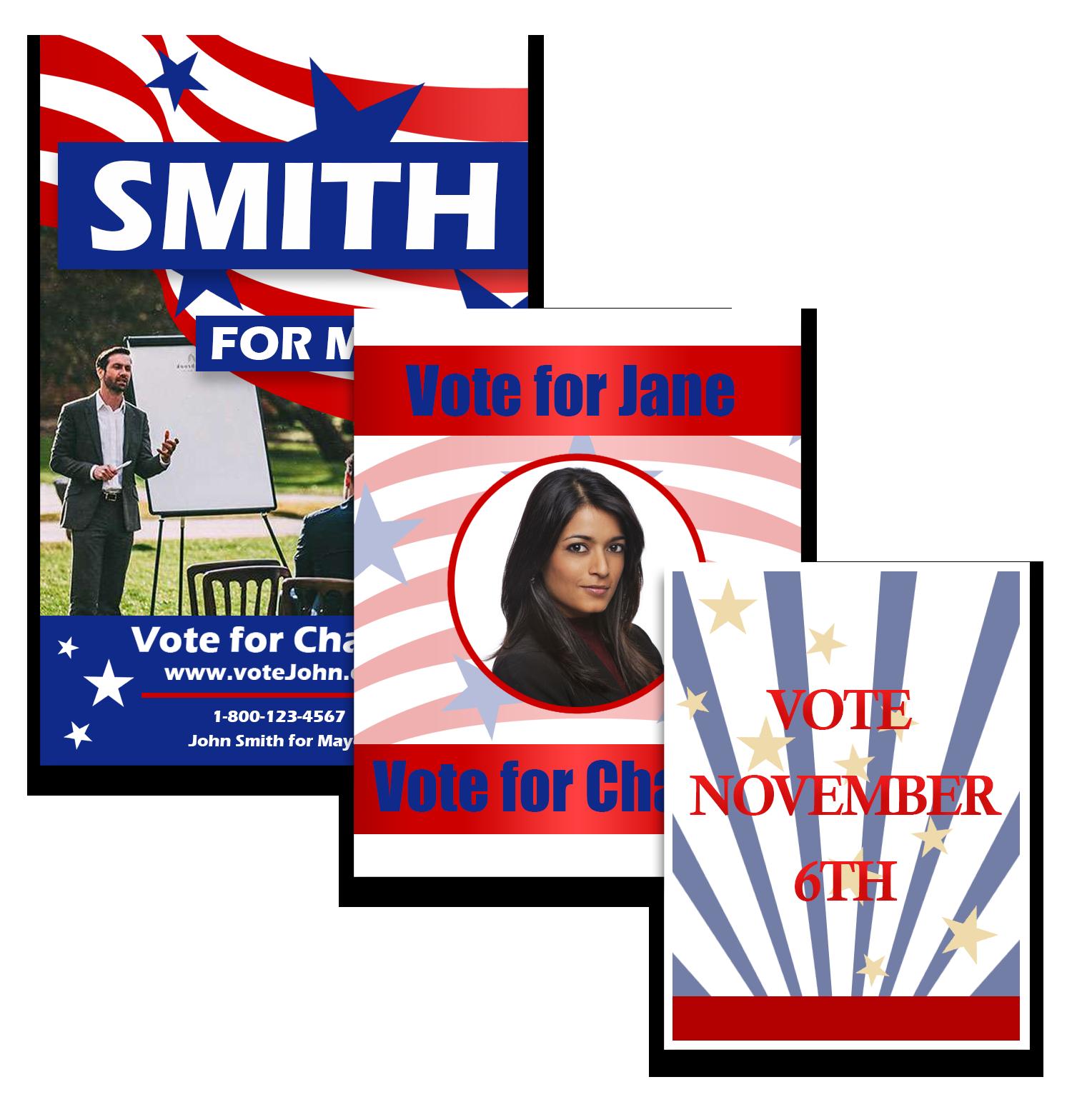 Broward Printing, campaign posters