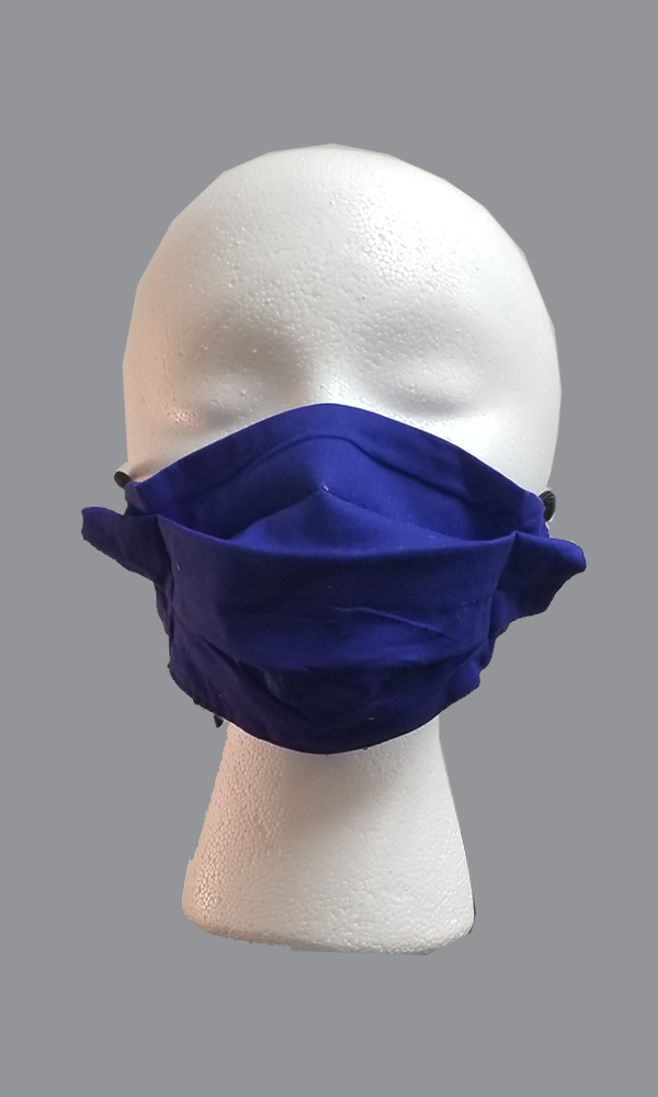 3-Ply Expandable Cloth Face Mask with Ties