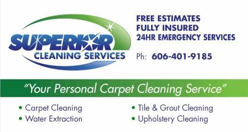 Superior Company Logo Business Card