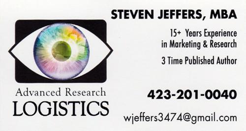 Multi-Colored Artwork Business Card