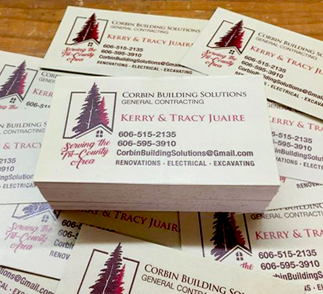 Two Color Business Cards