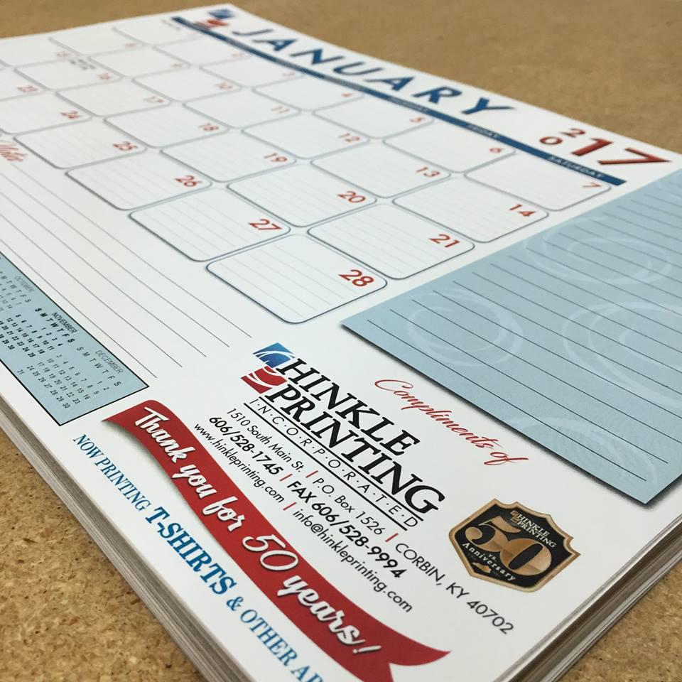Full Color Desk Calendars