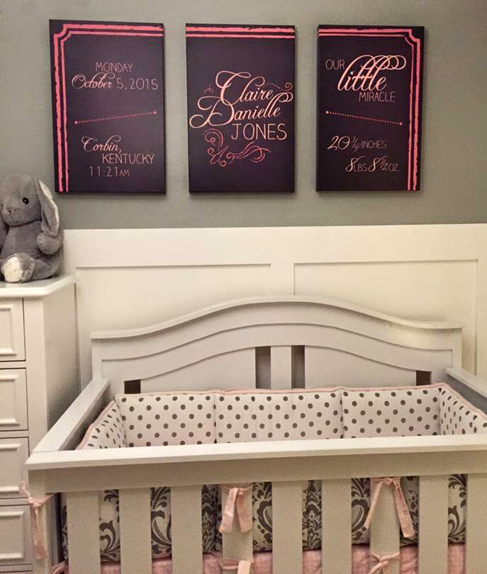 Framed Canvas decorations