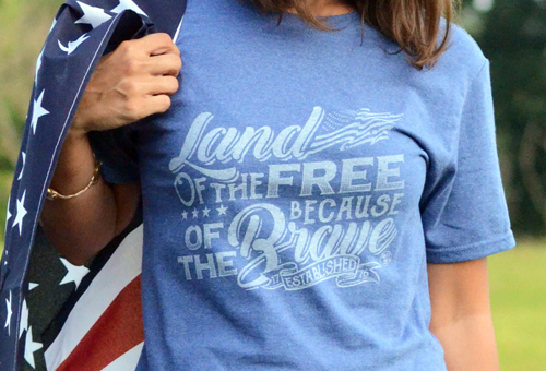 Custom T-Shirts made in the USA