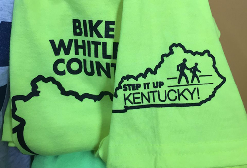 One color Step Up KY T-Shirts for special events!