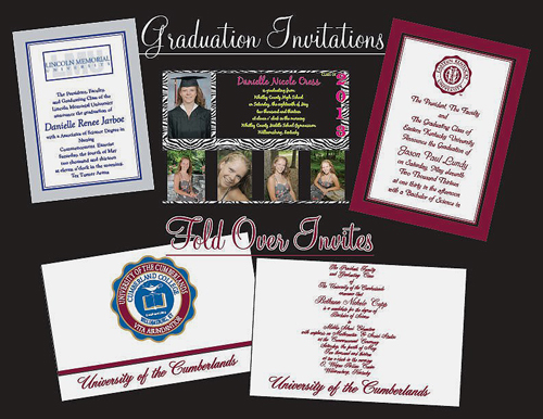 Invitations for Graduation examples