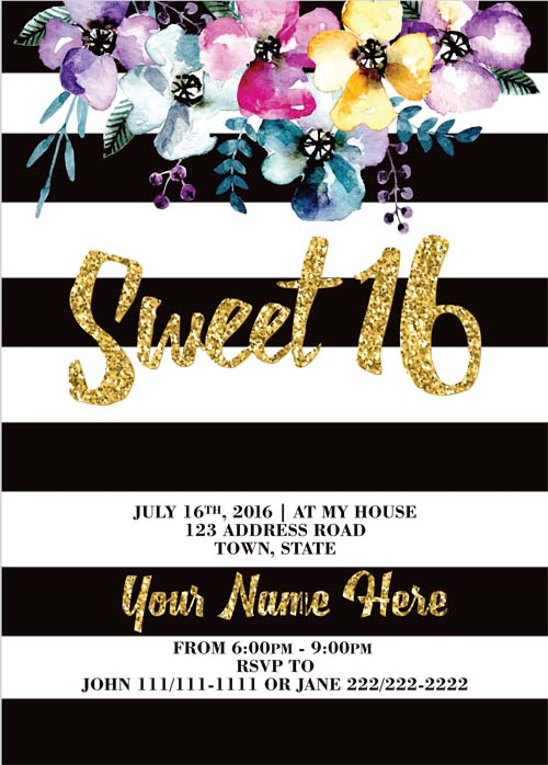 Sweet_16_Invitations
