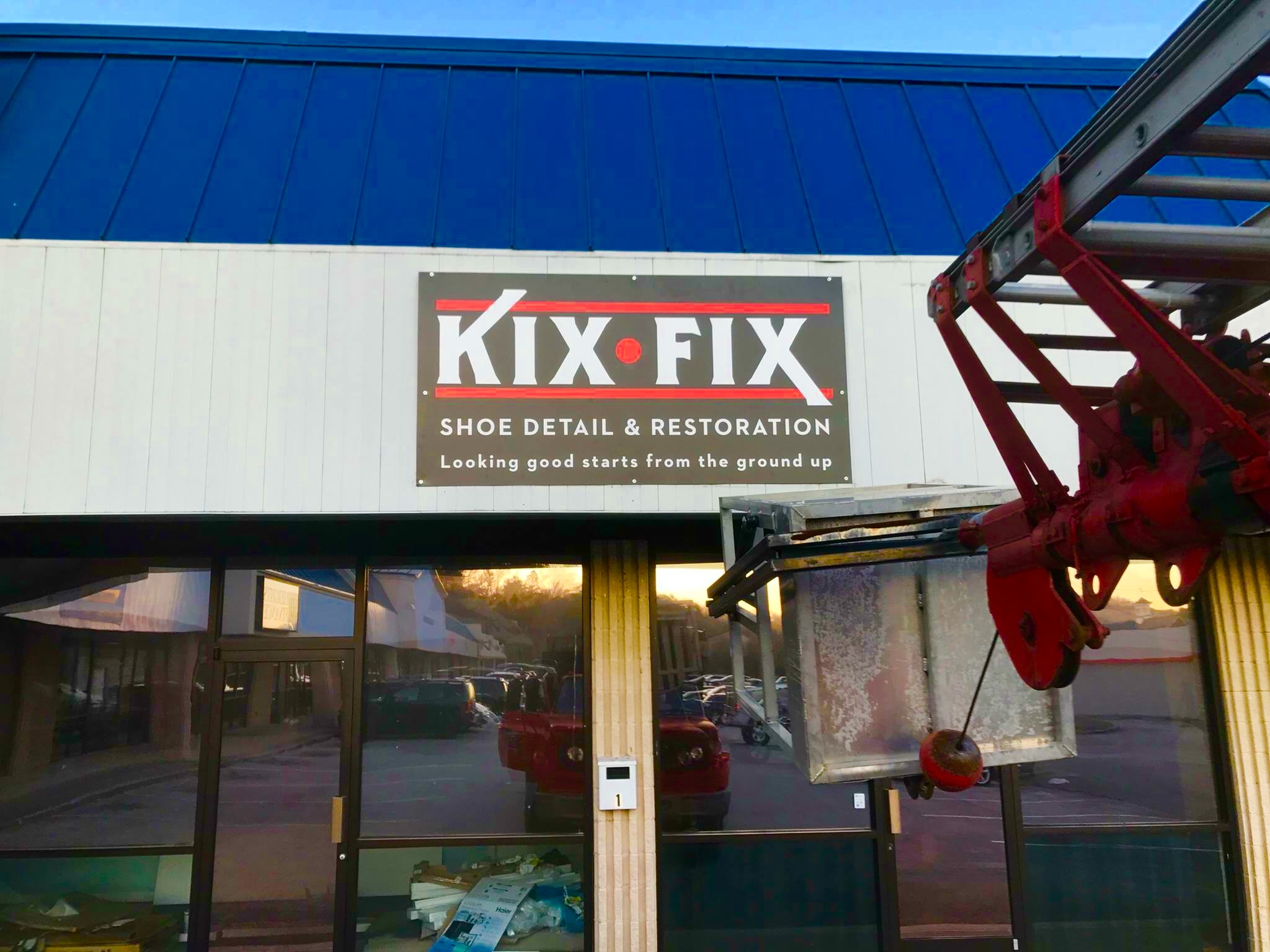 Business signs and installation