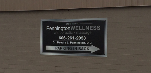 aluminum & metal signs made by Hinkle Printing