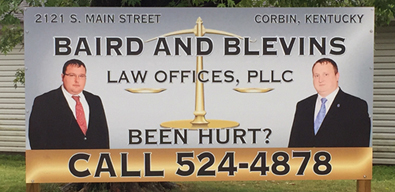 Large Outdoor Business Sign