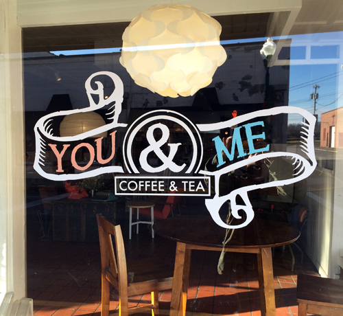 Window Graphic with Logo
