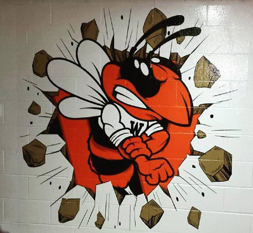 Full Color Wall Graphics for schools, homes and businesses!