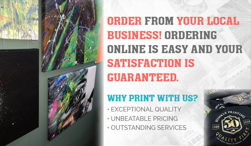Hinkle Printing is locally owned and operated!