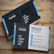Business Cards on 130# Gloss Cover