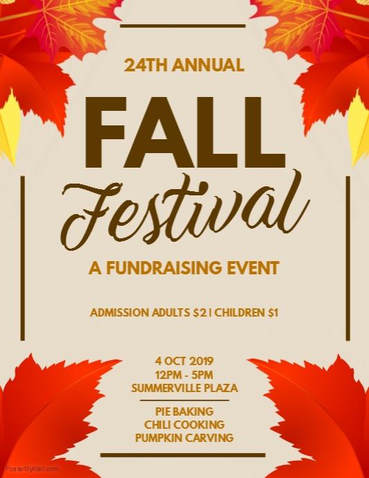 Fall poster sample