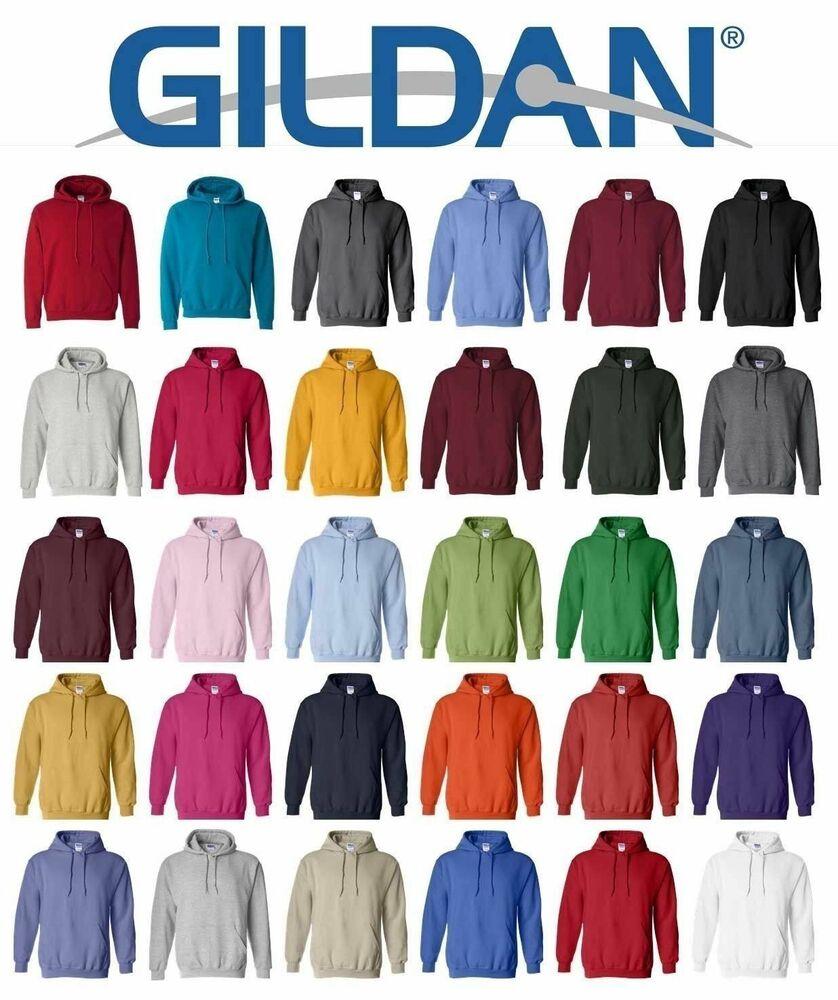 Sweatshirt Hoody Colors