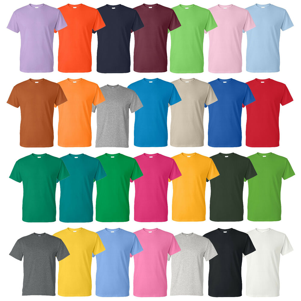 T-shirt colors