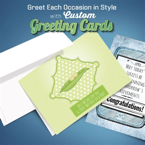 Fold over greeting card