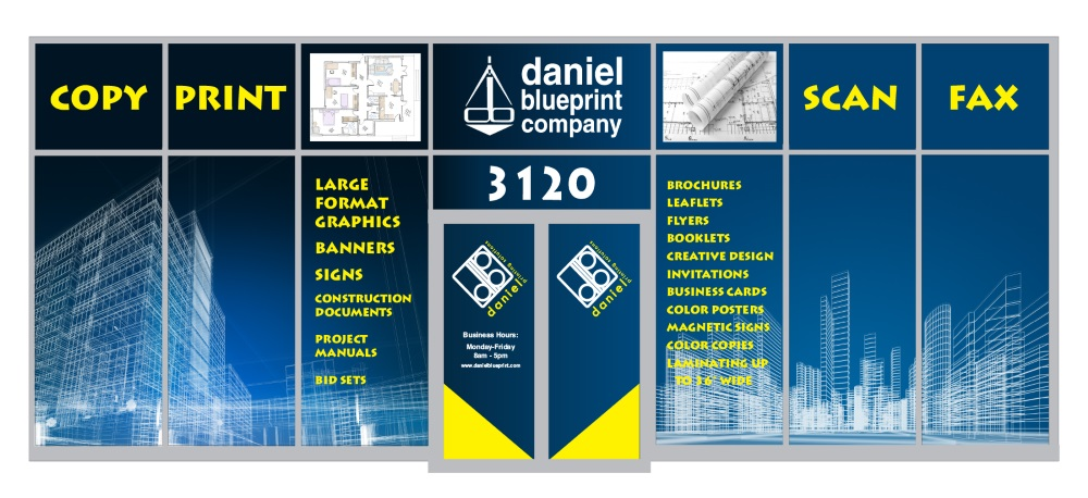 Large Format, Banners and Blueprints