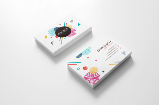 14pt Business Cards