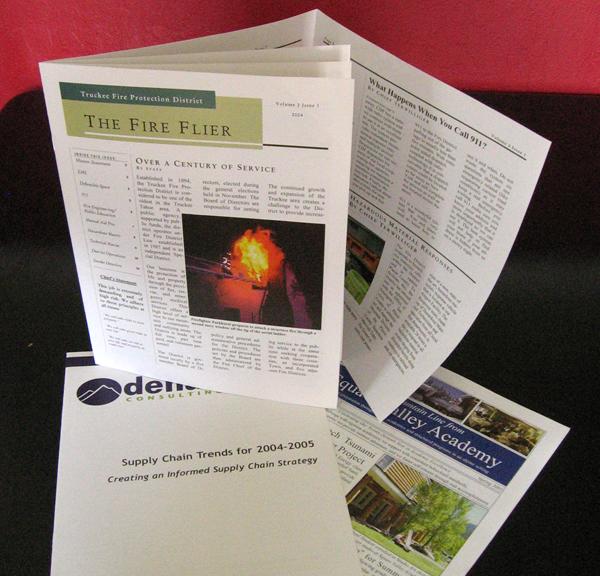 Copies of Flyer-Newsletters
