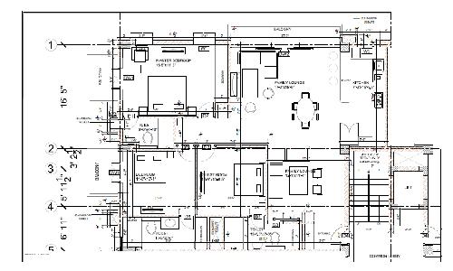 B&W Architectural Plans