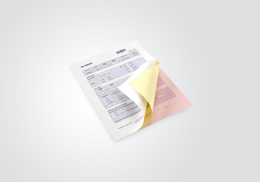 Carbonless NCR Forms Printing