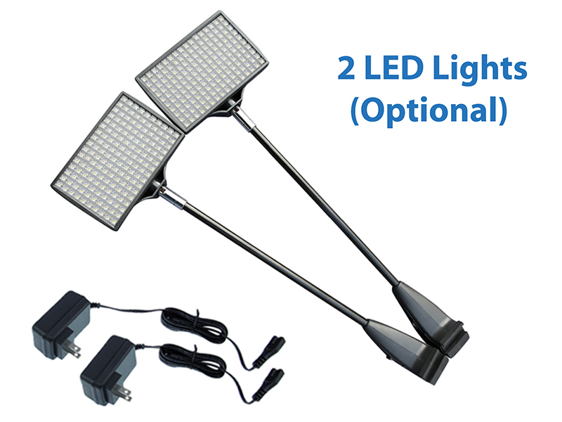 tension LED lights