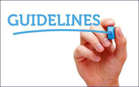 Guidelines home