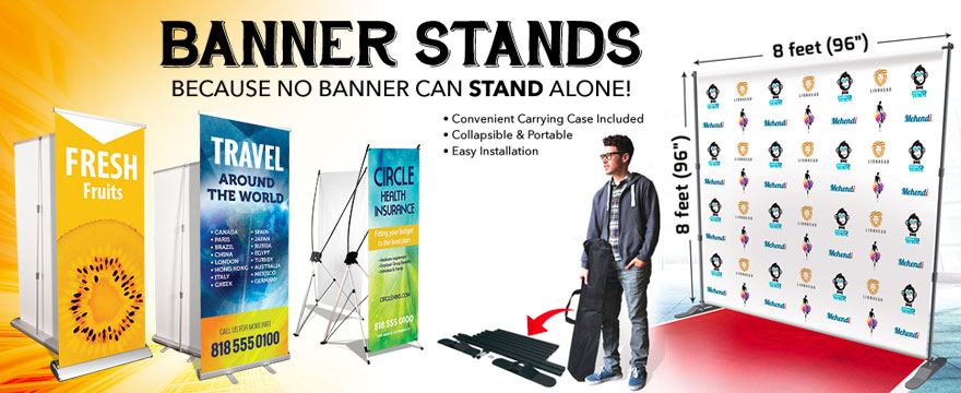 Banners banner stands okc