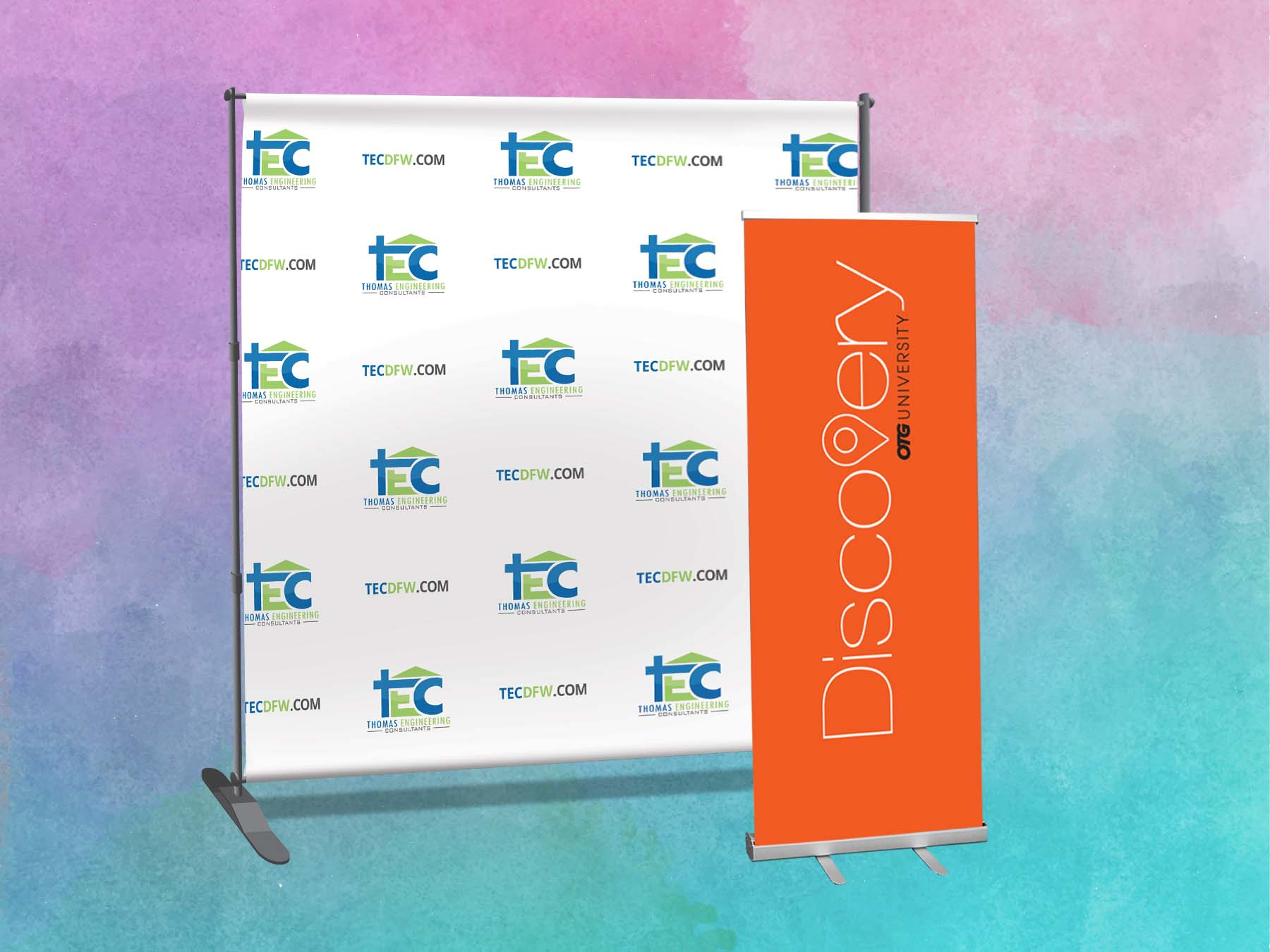 Banner w/ Stand