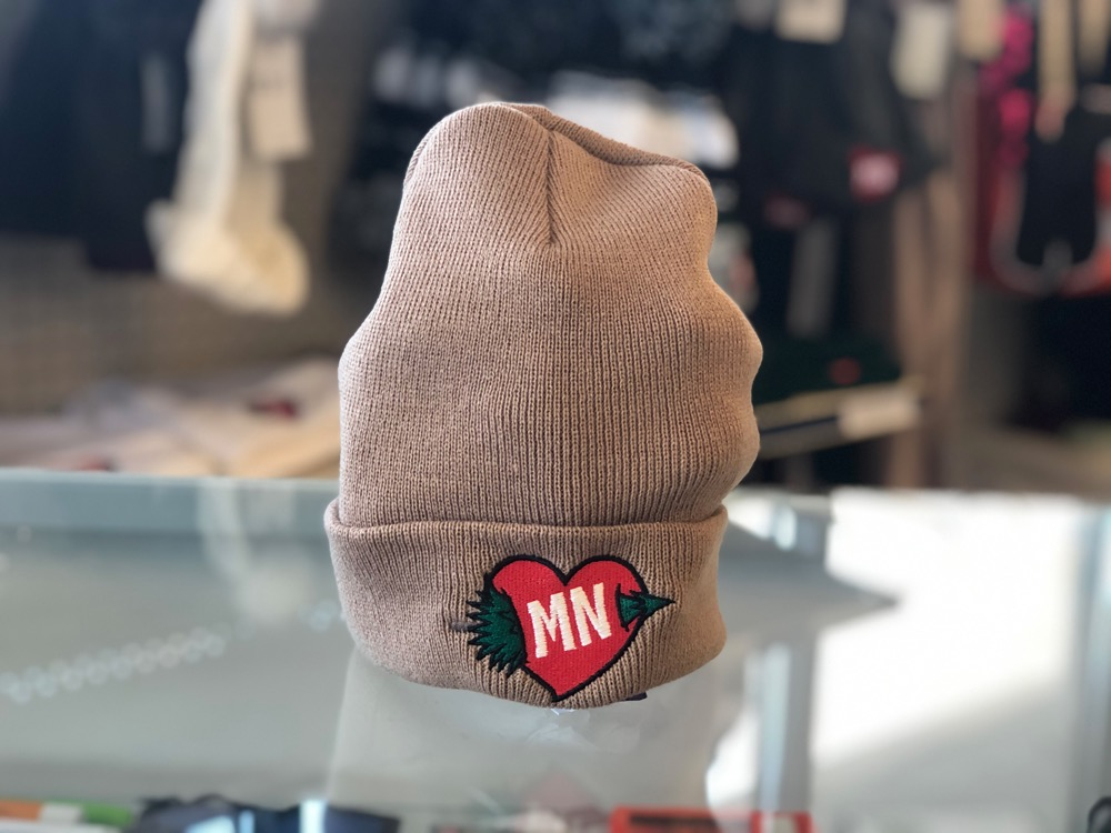 Minnesota Winter Heart Hat 9