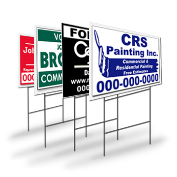 Coroplast Signs (full color)