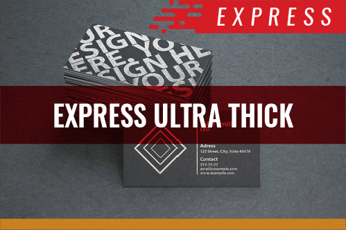 Express Ultra Thick Cards