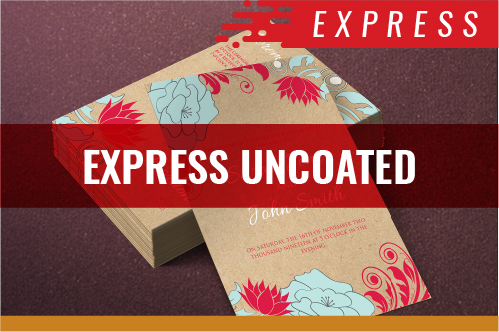 Express Uncoated Cards