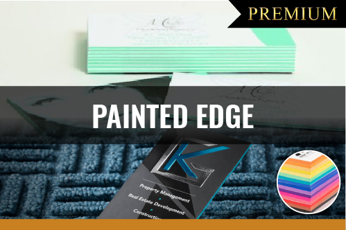 PREMIUM Painted Edge Business Cards